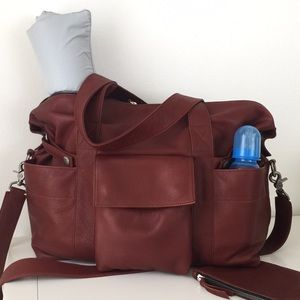 Not Rational Hansel Bag in brandy leather